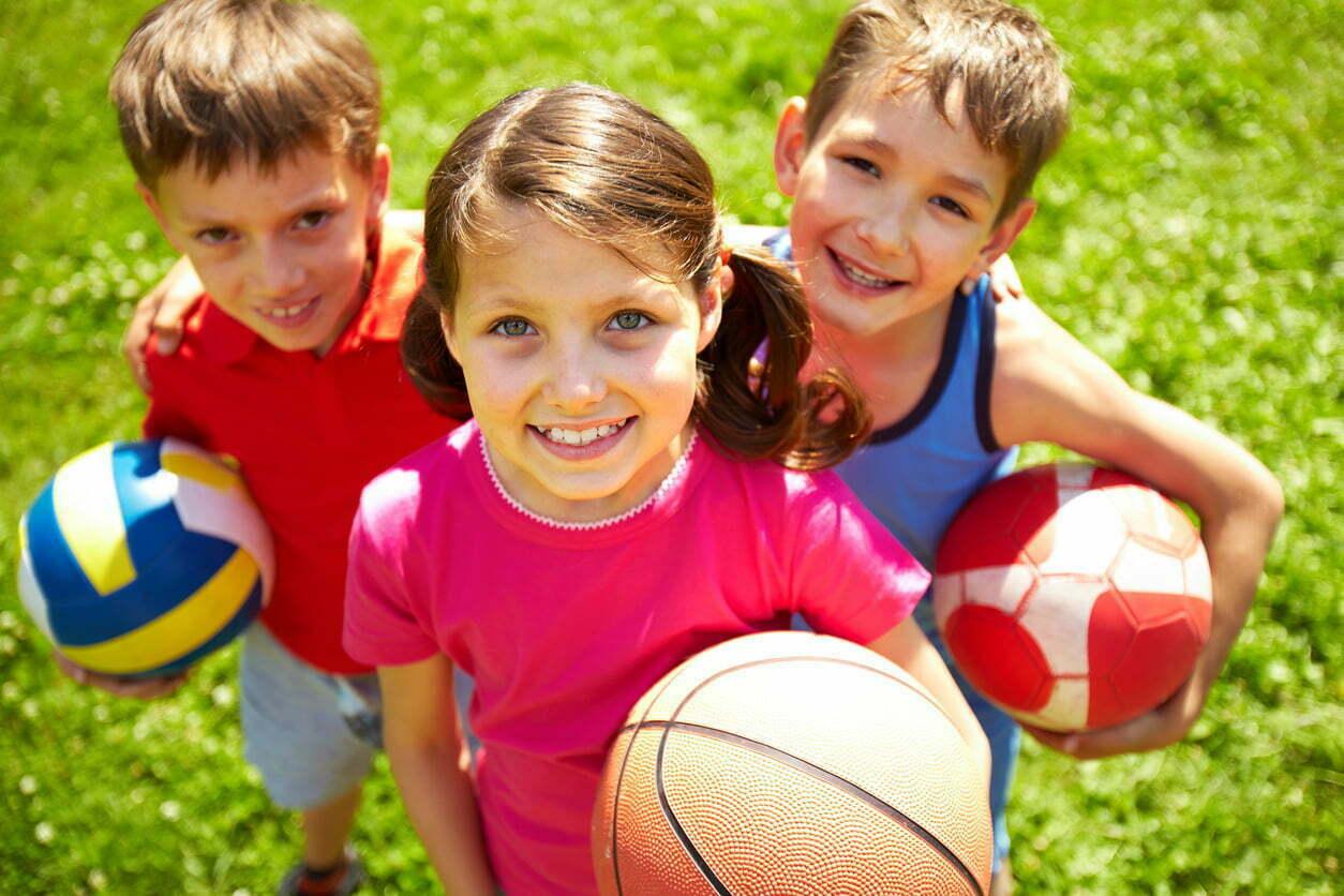 School holidays and sport